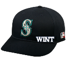 WINT - Custom Heat Pressed Seattle Mariners - Official MLB Hat for Little Kids Softball League DC2C8F549D2B