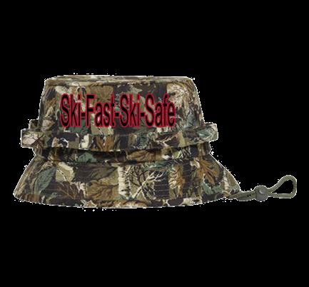 Ski-Fast-Ski-Safe - Custom Heat Pressed Bucket Hat Otto Cap 43-045  C7C0A8D51270 11b0533d07f