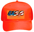 USA Neon Pro Style Hat Otto Cap