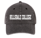 HILLSDALE COLLEGE  - Custom Heat Pressed Low Profile Otto A-Flex Stretchable Washed Denim Otto Cap 94-613 (LXL) 0C8EDDE915D9