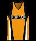 EMIELAND DISCONTINUED Girls Wicking Mesh Basketball Jersey - 514