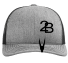 2-B-( - Custom Embroidered Cotton Twill Mesh Snapback - 112 FA6D86B18CB4