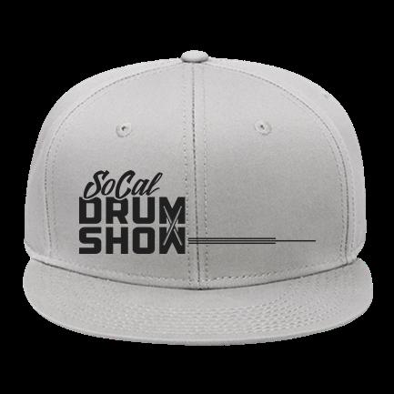 975b4e19fd9650 SoCal Drum Show Hat - Custom Screen Printed Snap Back Flat Bill Hat -  125-1038 EA7A553D6A50
