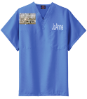 Faith Community Nursing Services-JoAnne-Nursing Services - Custom Heat Pressed Dickies Medical Scrubs - 83706 231EDAD547BA