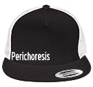 Perichoresis - Custom Embroidered Two Color Classic  Trucker Hat  - 6006T 6BF592B346F5