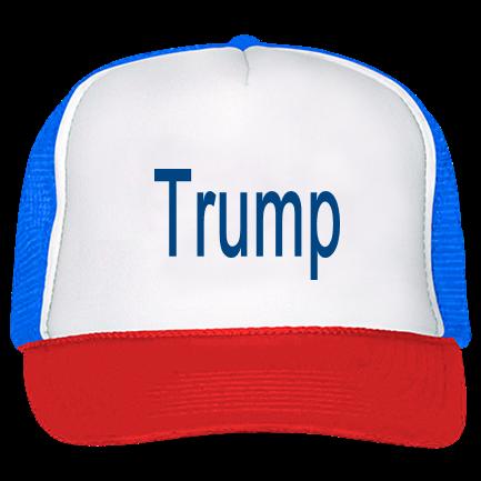 Trump - Trucker Hat 39-169 - Custom Screen Printed - CustomPlanet.com 65a382d8119