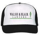Walsh and Blair  - Custom Screen Printed Trucker Hat 39-169 F585D66AD2AF