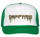 Impetigo Logo - Custom Heat Pressed Trucker Hat 39-169 674F663EB87D