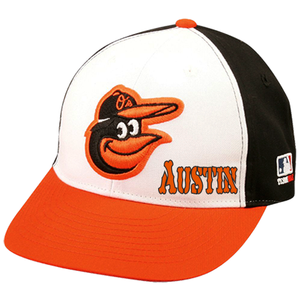 austin - Custom Heat Pressed Baltimore Orioles - Official MLB Hat for  Little Kids Leagues 7E60EB40859F 4f5ccf30be5