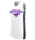 mustang-all-stars Girls Racerback Sleeveless Jersey