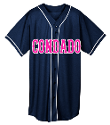 Condado - Custom Heat Pressed Adult Full Button Wicking Mesh Jersey  - 593 50896E94A62B