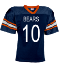 BEARS-10-WEIS-10 - Custom Heat Pressed YouthTeam Football Jersey - Teamwork Athletic -1314 556B16268E53