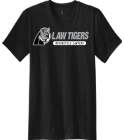 Law Tiger Tee - Custom Screen Printed Young Mens Concert Tshirt - DT5000 E5EE5265C83A
