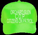 CITIZENS-ON-PATROL Neon Pro Style Hat Otto Cap