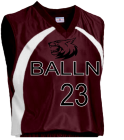 BALLN - Custom Heat Pressed Adult Tip Off Basketball Jersey - Teamwork Atheletic - 1430 CD5FA2845351