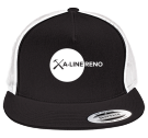 a-line reno - Custom Heat Pressed Two Color Classic  Trucker Hat  - 6006T C398EC218552