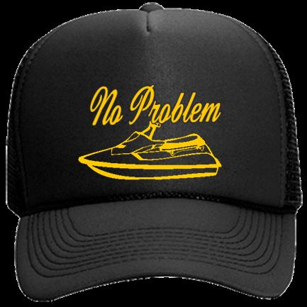 No Problem - Mesh Trucker Hat 32-467 - Custom Embroidered - CustomPlanet.com 41dd32a0f0de