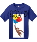 BIRTHDAY BOY -MESSIAH -2 - Custom Embroidered Fruit of the Loom Youth Heavy Cotton Tee 3930B BA96723F512C