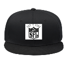 Set 4 life - Custom Embroidered Snap Back Flat Bill Hat - 125-1038 BE101EFAAA5C
