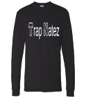 Trap Natez - Custom Screen Printed Hanes Longsleeve T-shirt 5286 E39A38452C44
