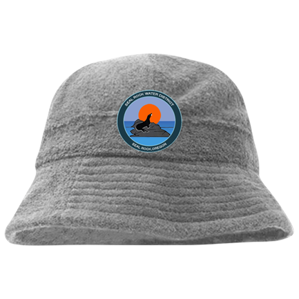Seal Rocks - Custom Embroidered Terry Cloth Custom Bucket Hats - 980  391614ABB5C9 29f77739b53