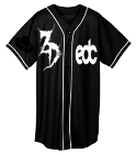 Zeds dedication 11 - Custom Heat Pressed Adult Full Button Wicking Mesh Jersey  - 593 A684820C4E98
