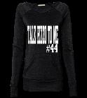 Rizzo Galway Girl Ladies Off The Shoulder Alternative Sweatshirt