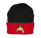 DIRTY COLLECTION - Custom Heat Pressed Knit Two Colored Beanie - R19 095EC165D484