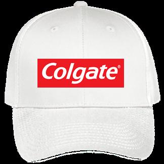 Colgate white - Custom Heat Pressed Baseball Hats Cheap 19-536 F768253223DC 39f22ffbb35