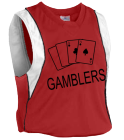 GAMBLERS - Custom Heat Pressed Youth Basketball Jersey - Buzzer Beater Series - Teamwork Athletic - 1489 0F5703D97B16