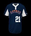 21Fallon Youth Astros Two-Button Jersey - Astros-MAIY83