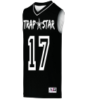trap - Custom Embroidered Adult Basketball Jersey - 152 7C155229A731