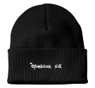 "choking - Custom Screen Printed 3"" Fold Up Cuff Beanie - CP90 3A1DD95E10AD"