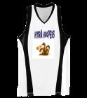 hydra Ladies Wicking Mesh Basketball Jersey