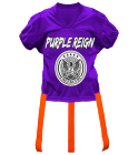 PURPLE-REIGN DISCONTINUED Adult Official Flag Football Jersey - 1358