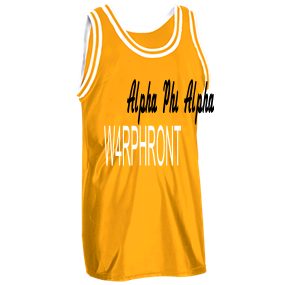 new style 2afb3 664cd W4RPHRONT - Custom Heat Pressed Old School Basketball Jersey - 1426