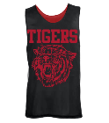 Tigers - Custom Heat Pressed Youth Reversible Wide Shoulder Mesh Jersey-Teamwork Athletic-1480 7721980ABA8F