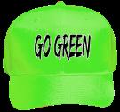 GO-GREEN Neon Pro Style Hat Otto Cap