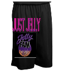"Just jelly - Custom Heat Pressed Teamwork Athletic Youth Fadeaway Tricot Basketball Short - 7 "" inseam - 4414 6E166A24B7CF"