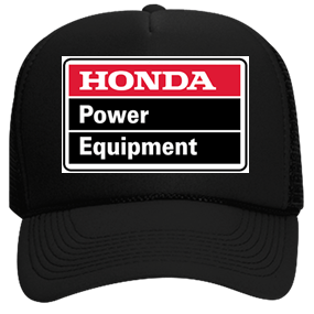 f6c991395 Honda power equipment Hat - Custom Heat Pressed Neon Trucker Hat | Neon  Snapback 6801