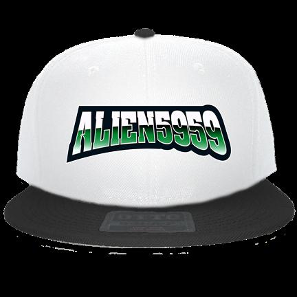 1b1d8e6ed88 alien5959 - Custom Heat Pressed Snapback Flat Bill Hat - 125-978  952B3944C4BC