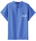 RX for Love Scrub top - Custom Heat Pressed Dickies Medical Scrubs - 83706 589DBCC6D61D