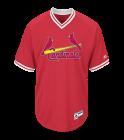 HInson6HINSON6 Youth Cardinals Two-Button Jersey - Cardinals-MAIY83