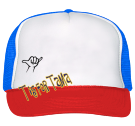 T is for TAMA - Custom Embroidered Trucker Hat 39-169 6D372B9AB6CF