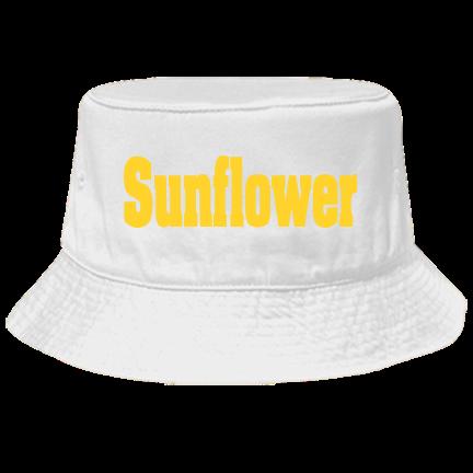 77d6be72d Sunflower - Custom Heat Pressed Bucket Hat Otto Cap 16-096