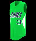Canes3PRIVETT3 Youth Customized Sleeveless Wheel House Jersey