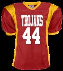 TROJANS-44DAGAMPAT44 DISCONTINUED Adult Steelmesh Football Jersey - Teamwork Athletic -1327