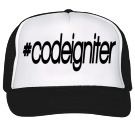 #codeigniter - Custom Heat Pressed Trucker Hat 39-169 57412195E103