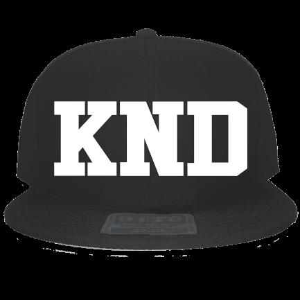 fb1cc18f7aa59 KND - Custom Embroidered Snapback Flat Bill Hat - 125-978 61505F69506E