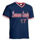 Lawrence County-17-17-VENNARD - Custom Screen Printed Teamwork Athletic  Youth V-Neck Baseball Jersey - 1269 - Teamwork Athletic 08E33AEBB0B1